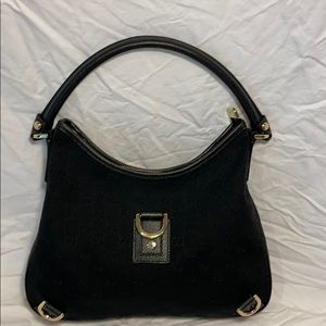 Authentic Gucci GG gold hardware Hobo